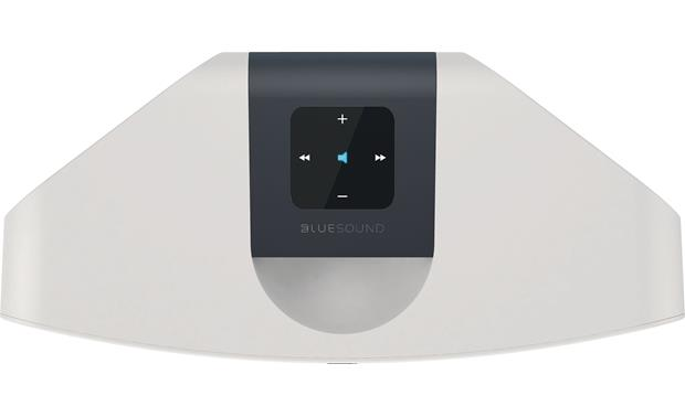 Bluesound Pulse Mini White - top-mounted controls
