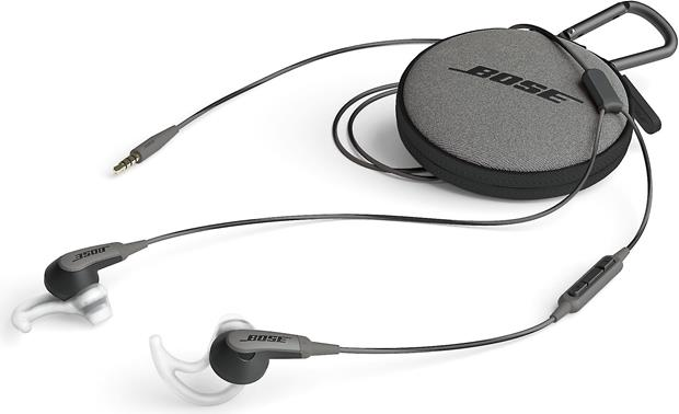 Bose® SoundSport® in-ear headphones Carrying case included