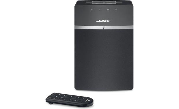 Bose® SoundTouch® 10 wireless speaker Black - front