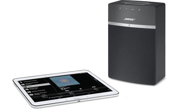 Bose® SoundTouch® 10 wireless speaker Black - stream via Wi-Fi (tablet not included)