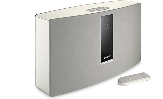 Bose® SoundTouch® 30 Series III wireless speaker White - left front