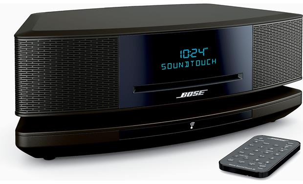 Bose® Wave® SoundTouch® wireless music system IV Espresso Black - left front