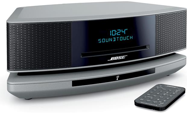 Bose® Wave® SoundTouch® wireless music system IV Platinum Silver - left front