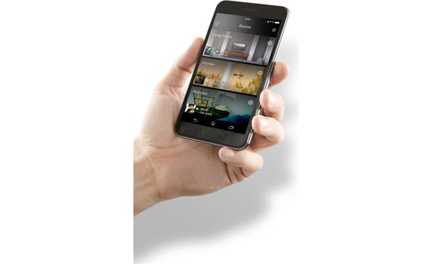 Yamaha MusicCast WX-030 Easily select music for one room or a group of rooms with the MusicCast app for your phone or tablet