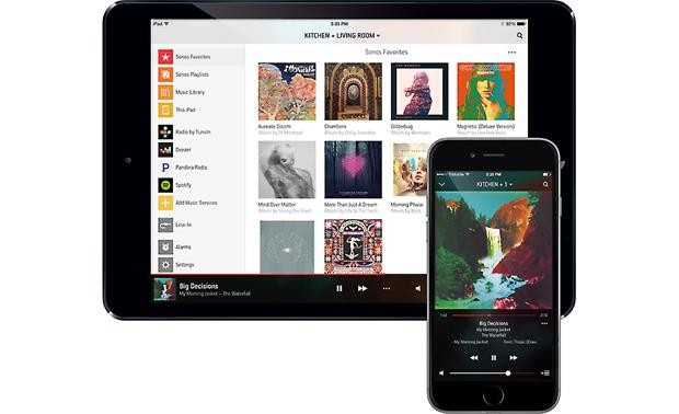 Sonos Play:5 Download the Sonos control app for your tablet or phone