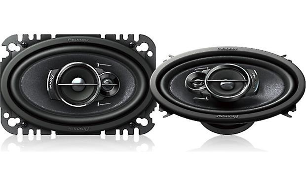 Pioneer TS-A4676R Pioneer's 3-way design gives greater clarity to your sound.