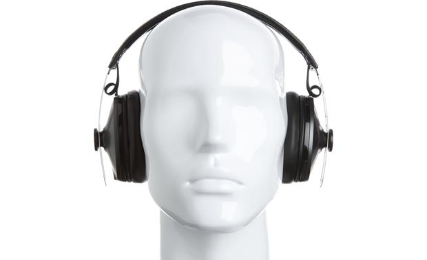 Sennheiser Momentum 2.0 Over-ear Wireless Mannequin shown for fit and scale
