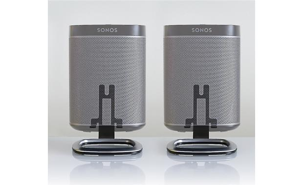 Flexson Desktop Stands Black For Sonos Play 1 Speakers At