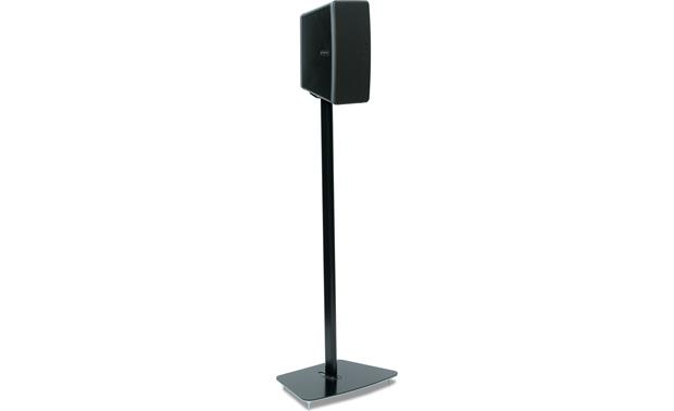 Flexson Floor Stand Black - speaker set vertically (Sonos PLAY:3 not included)