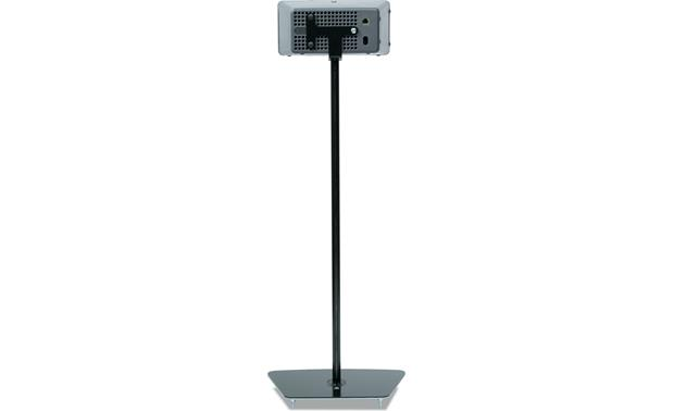 Flexson Floor Stand Black - bracket set horizontally (Sonos PLAY:3 not included)