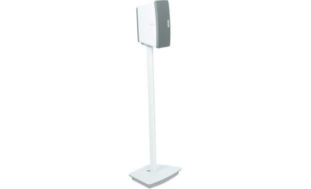 Flexson Floor Stand White - speaker set vertically (Sonos PLAY:3 not included)