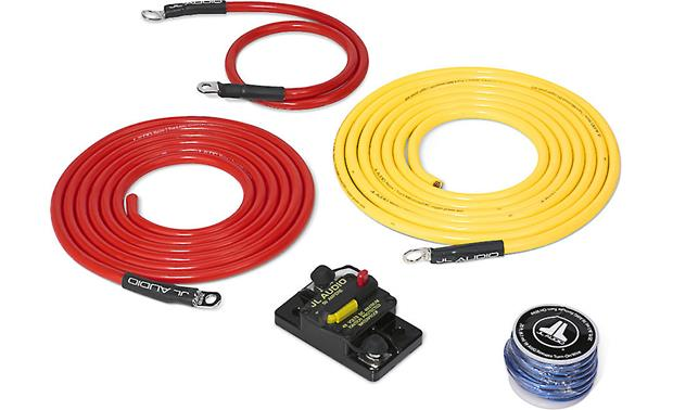jl audio marine amp wiring kit 10 feet 6 gauge amplifier wiring rh crutchfield ca