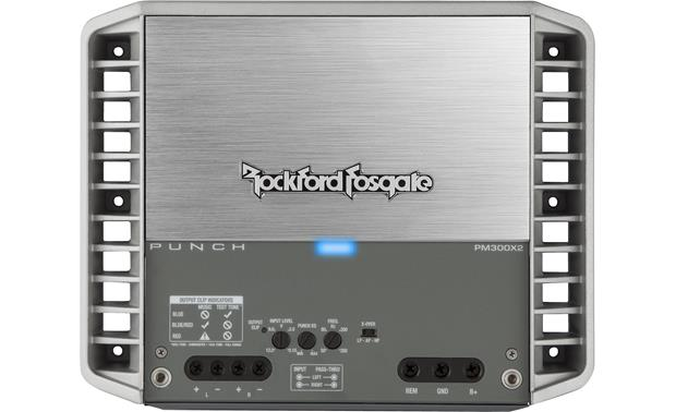 Rockford Fosgate PM300X2 Hidden control panel