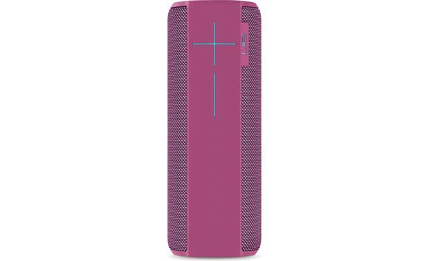 Ultimate Ears MEGABOOM Two large volume buttons on the side.