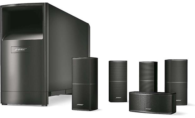 Bose® Acoustimass® 10 Series V home theater speaker system Front