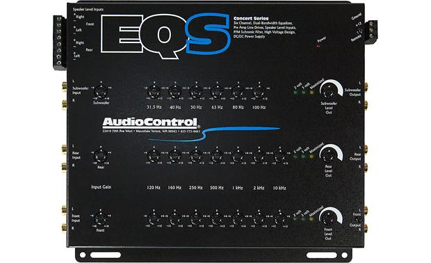 AudioControl EQS Front