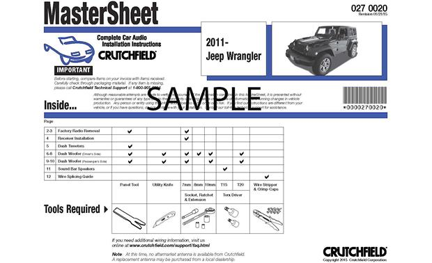 Crutchfield catalog user manuals user manuals complete custom instructions array crutchfield car audio installation instructions instructions for rh crutchfield ca fandeluxe