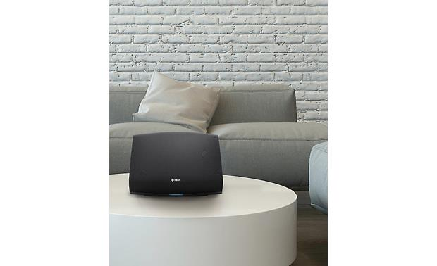 Denon HEOS 5 In living room setting (must be plugged into an AC outlet)