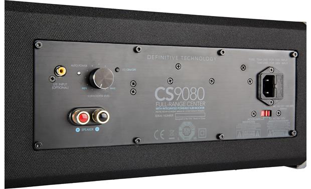 Definitive Technology CS-9080 Back connection panel