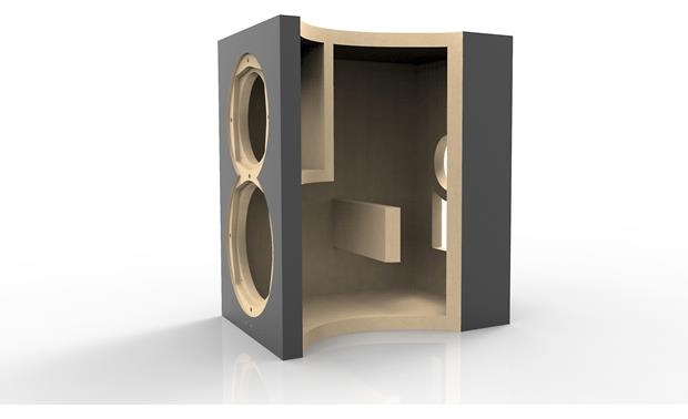 ELAC Uni-Fi UB5 Thick MDF cabinets with cross bracing help keep unwanted vibration at bay