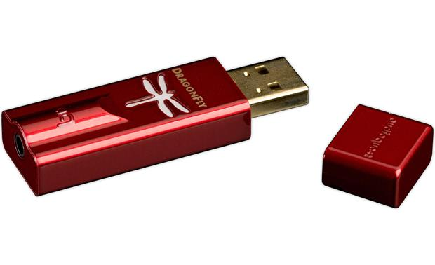 AudioQuest DragonFly® Red v1.0 Side view