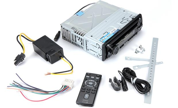 Sony MEX-M100BT Package contents