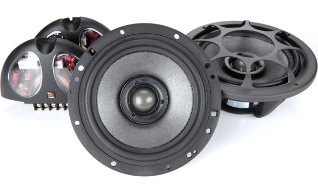 Morel Hybrid Integra 602 Morel builds the Hybrid Integra tweeter recessed in the woofer cone to improve imaging