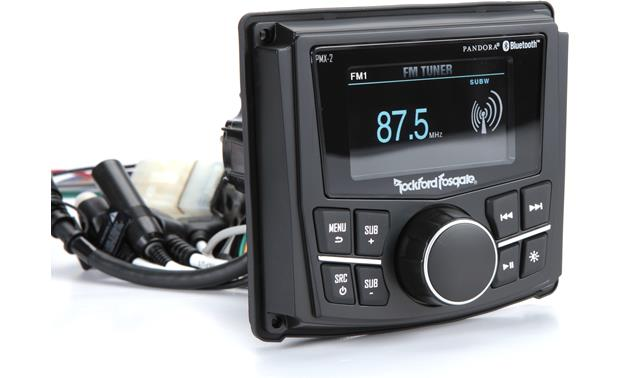Rockford Fosgate RZR-STAGE2 Rockford Fosgate ockford Fosgate Punch PMX-2 digital media receiver digital media receiver