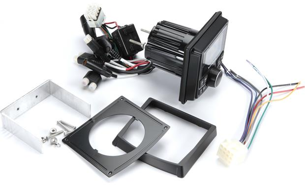 Rockford Fosgate RZR-STAGE2 Receiver and mounting hardware