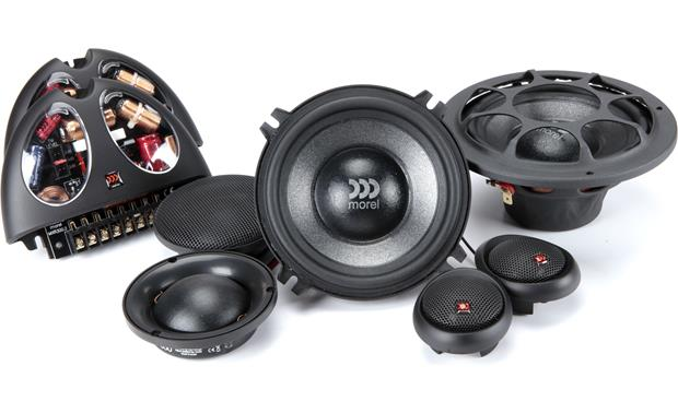 Morel Virtus 503 Morel component speakers are handmade from superior materials
