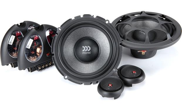 Morel Virtus 602 Morel component speakers are handmade from superior materials