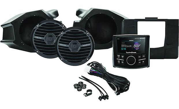 Rockford Fosgate RZR-STAGE2 stereo kit