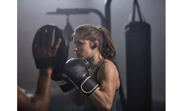 Bose® SoundSport® wireless headphones Sound that adds punch to your workout