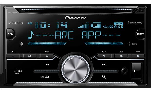 Pioneer FH-X830BHS The FH-X7830BHS offers Bluetooth, HD Radio, and supports SiriusXM satellite radio