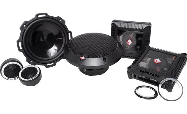 Rockford Fosgate T152-S These Rockford Fosgate Power speakers are a stellar pairing with an aftermarket amp