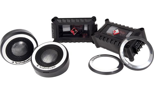 Rockford Fosgate T2T-S Rockford Fosgate's Power T2T-S tweeters are high-frequency drivers for an audiophile-worthy system