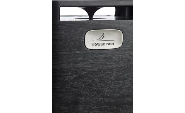 Polk Audio Signature S10 rear-facing Power Port for deep bass impact