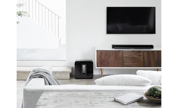 Sonos Sub Create a wireless home theater system (PLAYBAR and TV not included)