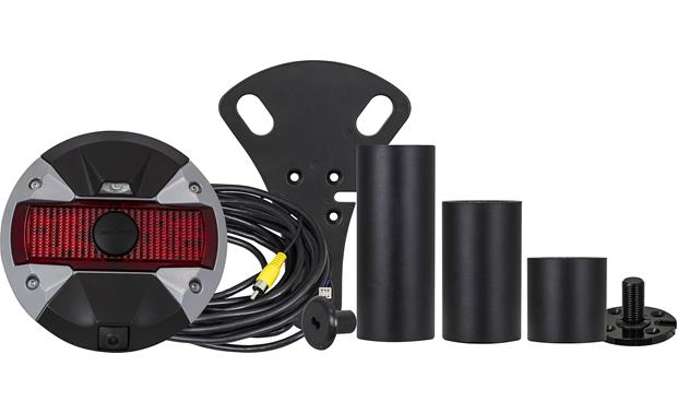 Alpine HCE-TCAM1-WRA This rear-view camera system works with a factory or aftermarket spare tire