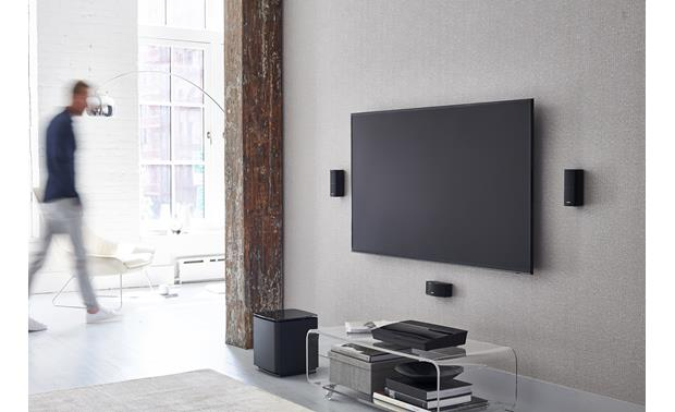 Bose® Lifestyle® 600 home theater system Includes slim Jewel Cube® speakers
