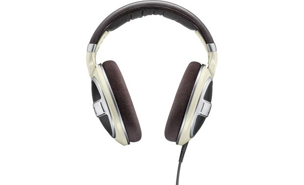 Sennheiser HD599 Padded, stitched leather headband and large velour earpads