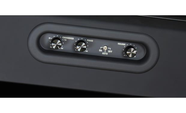 Bluesound Pulse Sub Black - inset control knobs