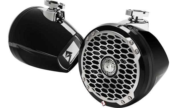 Rockford Fosgate PM2652W-MB mini wakeboard tower speakers
