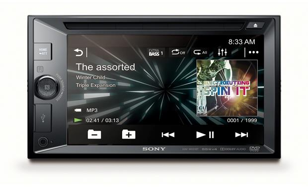 Sony XAV-W651BT Take control with a combo of easy-to-use controls and a 6.2