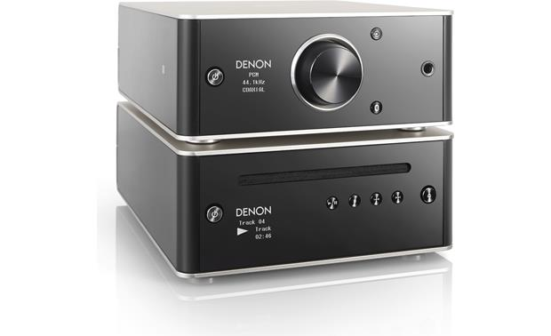 Denon DCD-50 Shown stacked with PMA-50 integrated amp (not included)