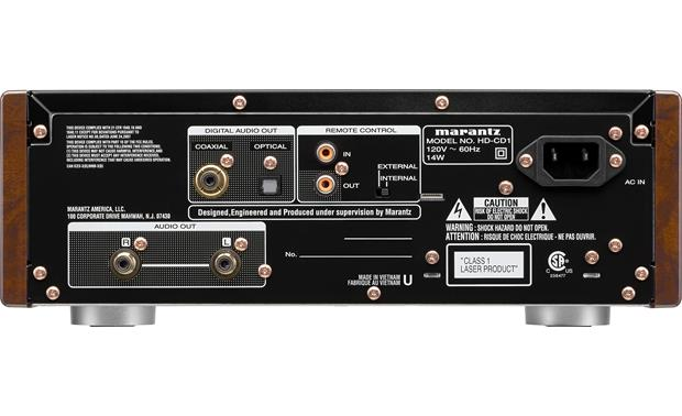 Marantz HD-CD1 Back