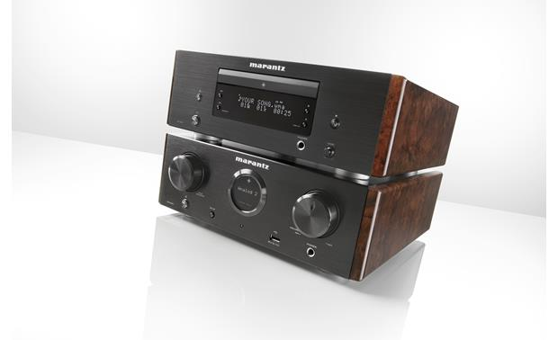 Marantz HD-CD1 Shown stacked with Marantz HD-AMP1 integrated amplifier (not included)