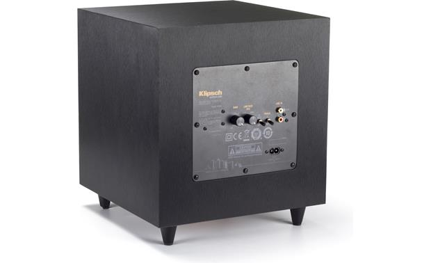 Klipsch Reference R-8SW Rear-panel controls
