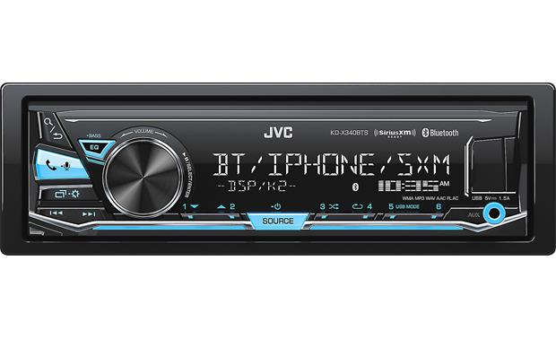 JVC KD-X340BTS digital media receiver