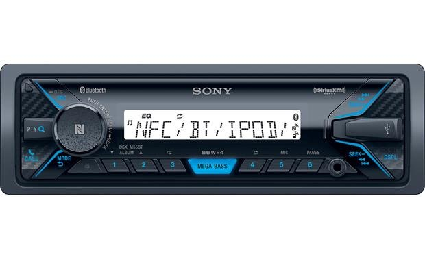 Sony DSX-M5511BT Built-in Bluetooth� and a handy front USB input